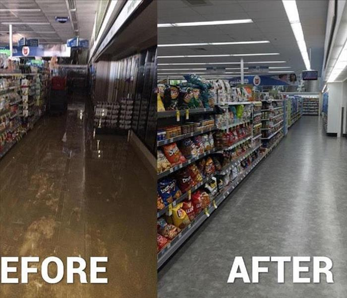 commercial water damage in Woodbury NJ, After