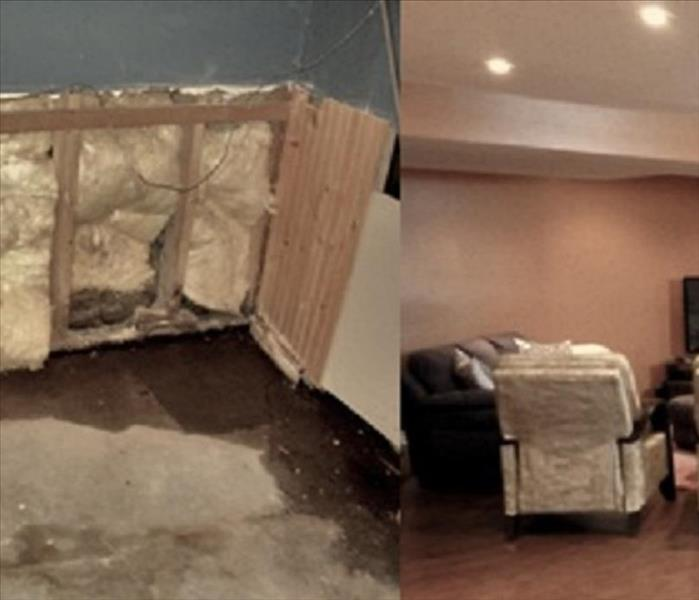 Water Damage in Deptford NJ, Before