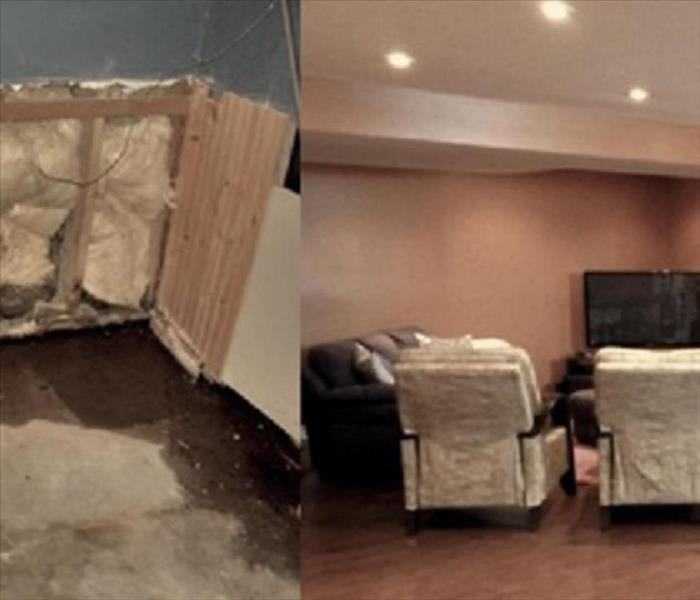 Water Damage in Deptford NJ, After