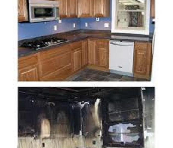 fire damage in Deptford NJ Before