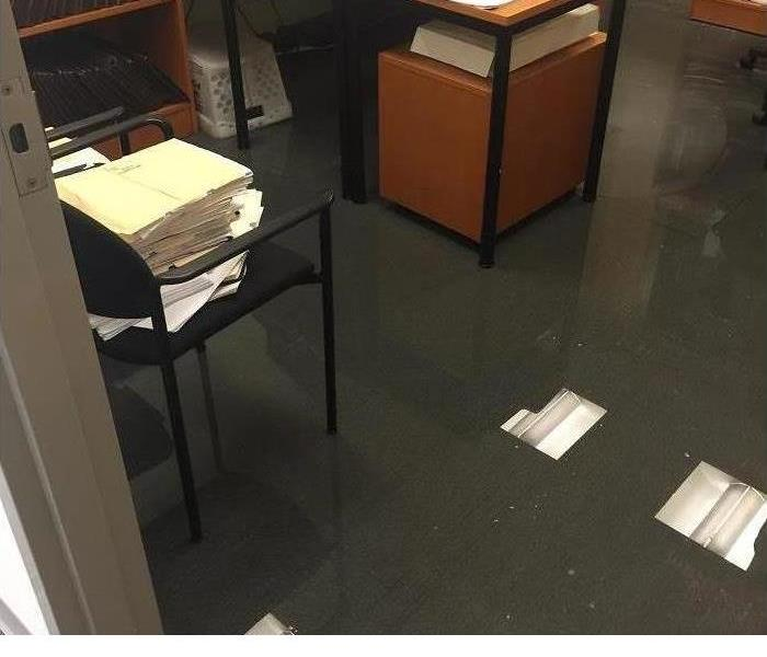 Commercial water damage in Woodbury NJ,