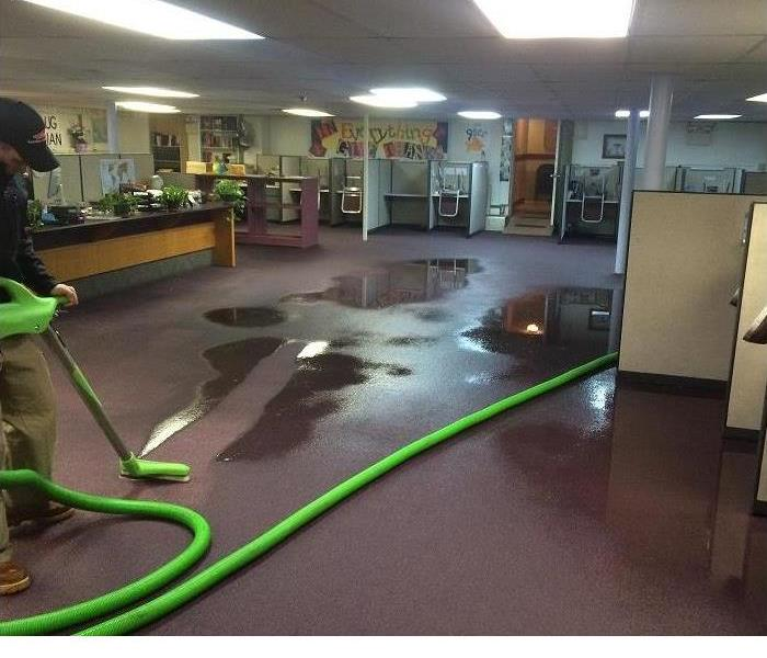 Water Damage loss at commercial Property in Westville, NJ